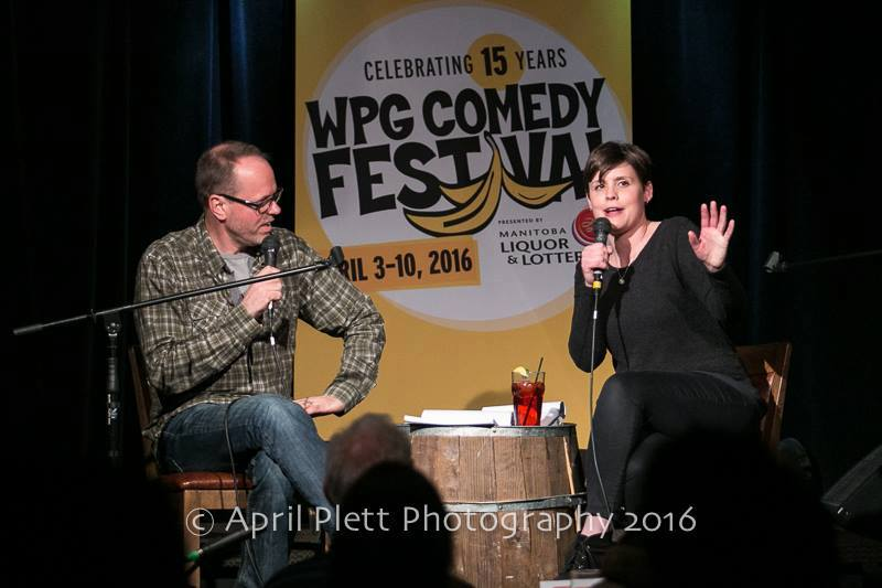 Winnipeg comedy festival podcast, meghan riley