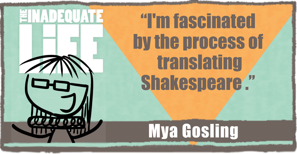 Mya Gosling, good tickle brain, interview, podcast